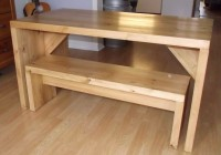 Kitchen Table Bench Designs