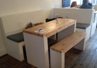 L Shaped Bench And Table