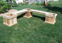 L Shaped Bench Plans