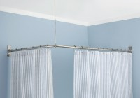 L Shaped Shower Curtain Rod Reviews