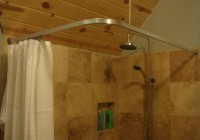 L Shower Curtain Rod Canada