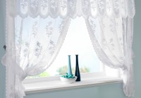 lace curtains for kitchen windows