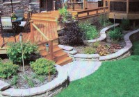 Landscaping Around Low Deck