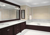 large framed bathroom mirrors