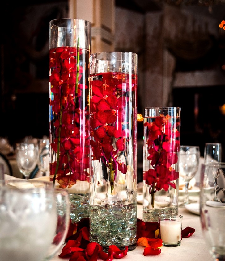 Permalink to Large Glass Vase Centerpieces