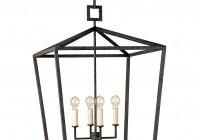Large Lantern Style Chandelier