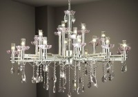 Large Modern Crystal Chandelier