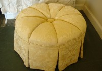 Large Round Ottoman Covers