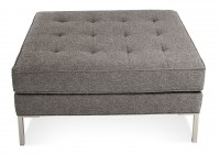 Large Tufted Ottoman Square