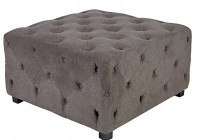 Large Tufted Storage Ottoman