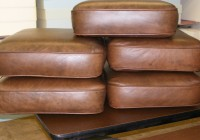 leather bench seat cushions