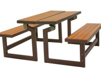Lifetime Convertible Bench Faux Wood Construction # 60054