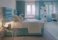 Light Blue Curtains Bedroom