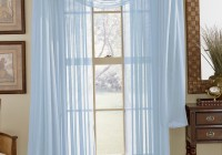 Light Blue Sheer Curtains