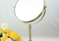 Lighted Makeup Mirror Bronze
