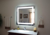 Lighted Vanity Mirror Wall Mount