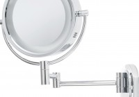 Lighted Wall Makeup Mirror