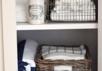 Linen Closet Storage Containers