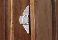 lock for double door closet