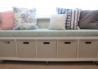 Long Storage Bench With Cushion