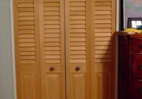 Louvered Bifold Closet Doors