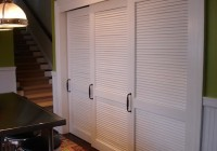Louvered Sliding Closet Doors