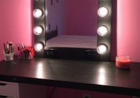 makeup vanity mirror with lights ikea