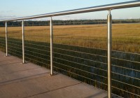 Marine Stainless Steel Deck Railing Systems