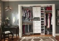 Master Bedroom Closet Organization