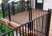 Metal Deck Railing Ideas