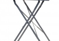 Metal Folding Side Table