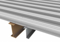 metal roof decking material