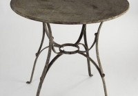 Metal Side Table Round