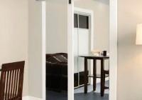 mirror closet door hardware