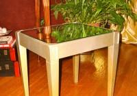 Mirror End Table Diy