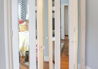 Mirrored Bi Pass Closet Doors