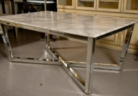 Mirrored Dining Table Base