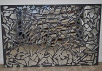 Mirrored Mosaic Wall Art