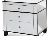 mirrored nightstands cheap