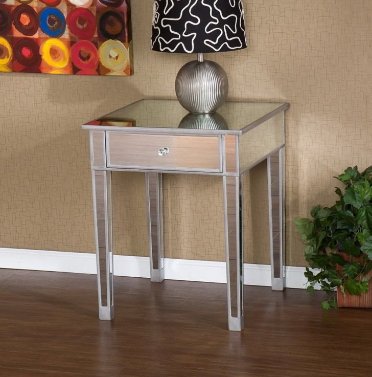 Permalink to Mirrored Side Tables Canada