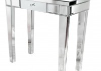 mirrored side tables uk