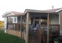 Mobile Home Covered Decks