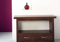 modern console table decor