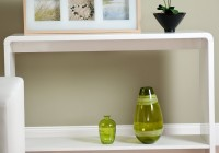 Modern Console Table With Shelf