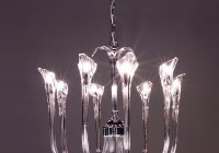 Modern Crystal 9 Light Chandelier