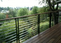 Modern Deck Railing Designs