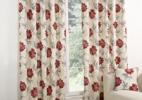 modern floral curtain panels