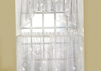 modern kitchen window curtains