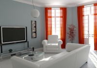 Modern Living Room Curtain Designs Pictures