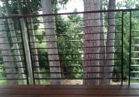 Modern Metal Deck Railing